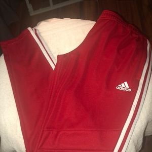 Adidas Red size med Soccer Pants